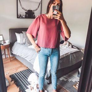 Aritzia x Wilfred blouse